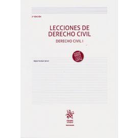 Lecciones de Derecho Civil. Derecho Civil I 2018