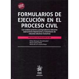 Formularios de Ejecución en el Proceso Civil. Con Análisis Práctico y Jurisprudencia Referente (Ejec