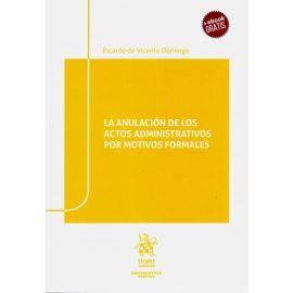 Anulación de los Actos Administrativos por Motivos Formales