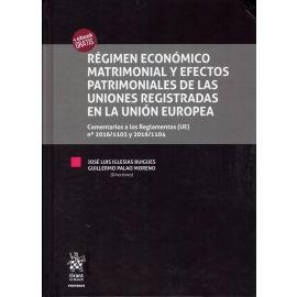Régimen Económico Matrimonial y Efectos Patrimoniales de las Uniones Registradas en la Unión Europea.
