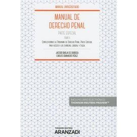 Manual de Derecho Penal II. Parte Especial 2018