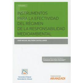 Instrumentos para la Efectividad del Régimen de la Responsabilidad Medioambiental