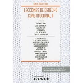 Lecciones de Derecho Constitucional, II 2018