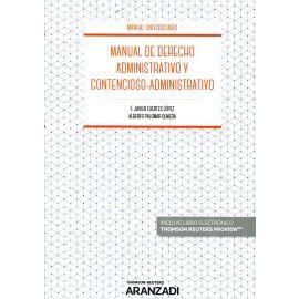 Manual de derecho administrativo y contencioso administrativo 2018
