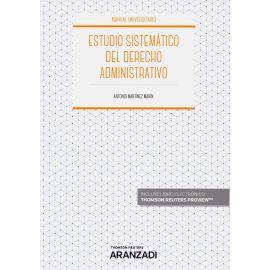Estudio sistemático del derecho administrativo