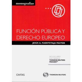 Función Pública y Derecho Europeo