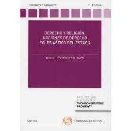 Derecho y religión 2018. Nociones de derecho eclesiástico del estado