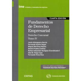 Fundamentos de Derecho Empresarial, 04 / 2019 Derecho Concursal