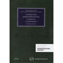 Contratos Administrativos. Legislación y Jurisprudencia 2019