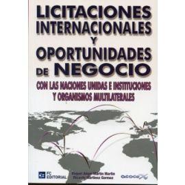 Licitaciones Internacionales y Oportunidades de Negocio con las Naciones Unidas e Instituciones y Organismos Multilaterales.