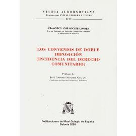 Los convenios de doble imposición. (Incidencia del Derecho Comunitario)