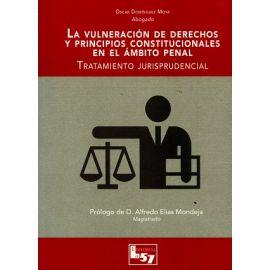 Vulneración de Derechos y Principios Constitucionales en el Ámbito Penal. Tratamiento Jurisprudencial
