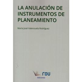 Anulación de instrumentos de planeamiento