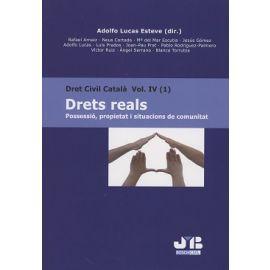 Dret Civil Català Vol. IV (1) Drets Reals Possessió, Propietat i Situacions de Comunitat