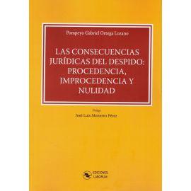 Consecuencias Jurídicas del Despido: Procedencia, Improcedencia y Nulidad