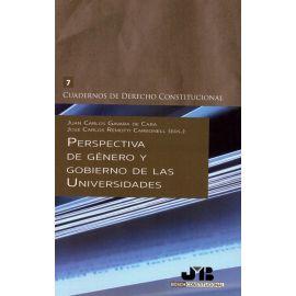 Perspectiva de Género y Gobierno de las Universidades