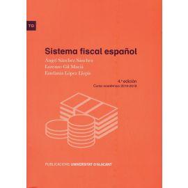 Sistema Fiscal Español. Curso académico 2018-2019