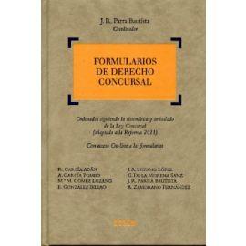 Formularios de Derecho Concursal
