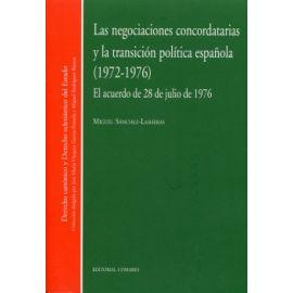 Negociaciones Concordatarias y la Transición Política Española (1971-1976)