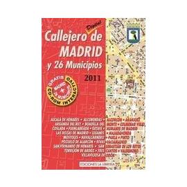 Callejero de Madrid y 26 Municipios 2011
