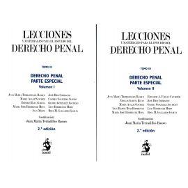 Lecciones y Materiales del Derecho Penal Tomo III. Derecho Penal. Parte Especial. 2 Volúmenes