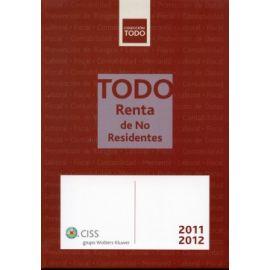 Todo Renta de No Residentes. 2011/2012