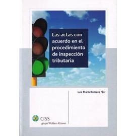 Actas con Acuerdo en el Procedimiento de Inspección Tributaria, Las.