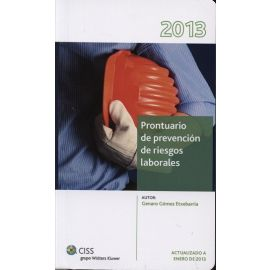 Prontuario de Prevención de Riesgos Laborales. 2013