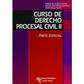 Curso de Derecho Procesal Civil II. Parte Especial.