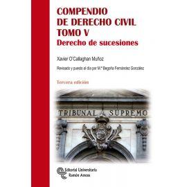 Compendio de Derecho Civil. Tomo V. 2020 Derecho de sucesiones