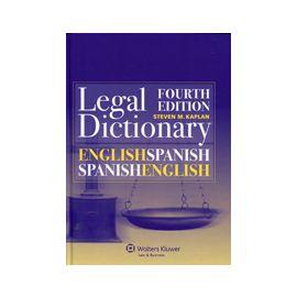 Legal Dictionary. English / Spanish and Spanish / English. Diccionario Legal. Inglés / Español y Español / Inglés.
