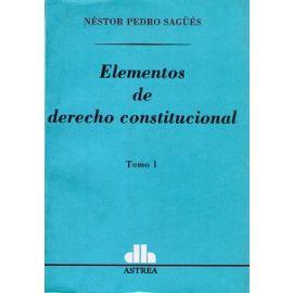 Elementos de Derecho Constitucional, 01.