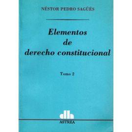 Elementos de Derecho Constitucional, 02