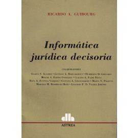Informática Jurídica Decisoria