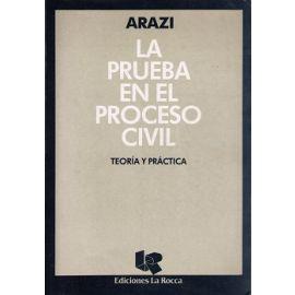 Prueba en el Proceso Civil TEORÍA Y PRÁCTICA