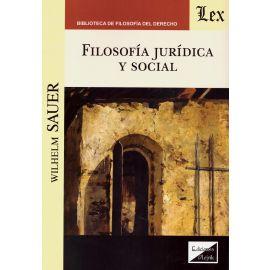 Filosofía Jurídica y Social