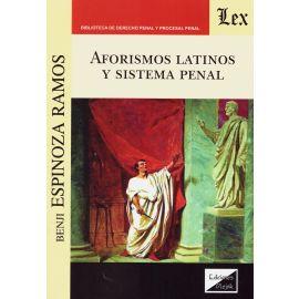 Aforismos latinos y sistema penal