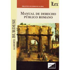 Manual de derecho público romano
