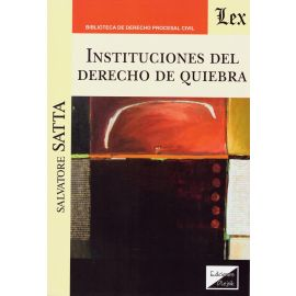 Instituciones del derecho de quiebra
