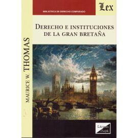 Derecho e instituciones de la Gran Bretaña