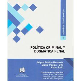 Política Criminal y Dogmática Penal
