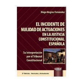 Incidente de Nulidad de Actuaciones en la Justicia Constitucional Española