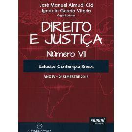 Direito e justiça Número VII. Estudos contemporâneos Ano IV - 2º semestre 2018