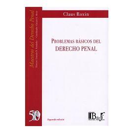 Problemas Básicos del Derecho Penal 2017