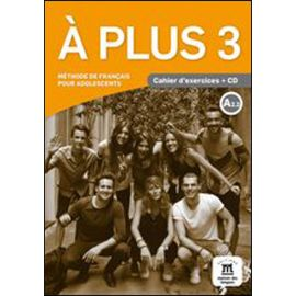 A plus 3 A2.2 Cahier d'exercices + CD
