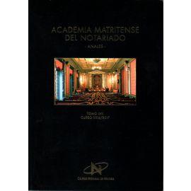 Academia Matritense del Notariado. Anales. LVI 2015-2016