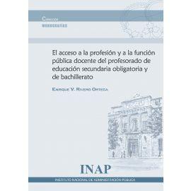 Acceso a la profesión y a la función pública docente del profesorado de educación secundaria obligatotia y de bachillerato
