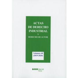 Actas de Derecho Industrial y Derecho de Autor Volumen 40 ( 2019-2020)