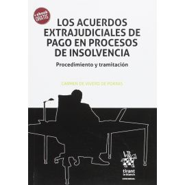 Acuerdos extrajudiciales de pago en procesos de insolvencia. Procedimiento y tramitación