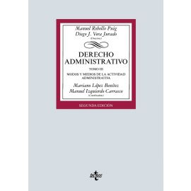 Derecho administrativo III, 2019. Modos y medios de la actividad administrativa